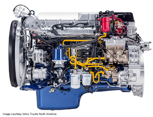 volvo natural gas engine