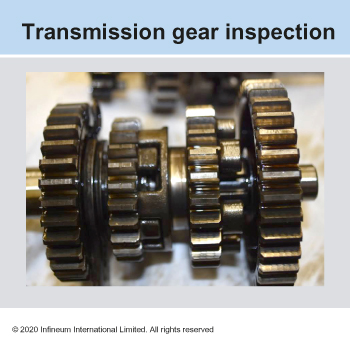 transmission gear inspection
